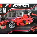 Конструктор Decool 3334 Гоночный автомобиль Феррари F1. Техник аналог Lego Technic 8386