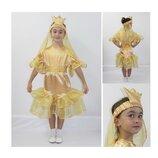 Новогодний костюм Золотая рыбка на 5-7 лет.