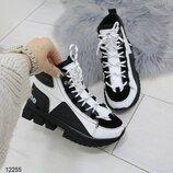 12255 ботинки женские зимние, зимние ботинки, кроссовки зимние, кроссовки женские зима
