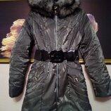 Куртка пальто женское осень-зима 44-48