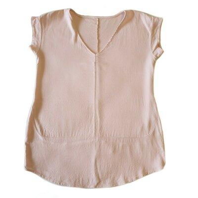 Итальянская блузка, нежно розового цвета.