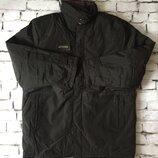 Крутая куртка мужское черное пальто