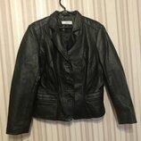 Куртка пиджак натуральная кожа от next Next