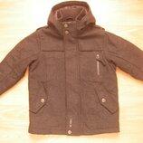 Парка, пальто, куртка Next, на 5 лет, 110 рост, 60 % шерсть