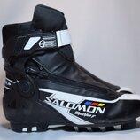 Ботинки лыжные Salomon Skiathlon Jr SNS Pilot. Румыния. Оригинал. 40 р./25.5 см.