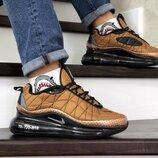 Мужские кроссовки термо Nike Air MX 720-818 gold