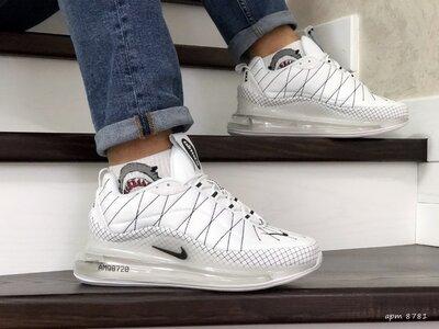 Nike Air Max 720 кроссовки мужские белые термо 8781