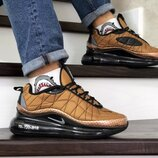 Nike Air Max 720 кроссовки мужские темное золото термо 8778