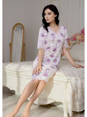 Ночная рубашка сорочка женская 46 48 50 52 54 56