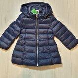 Пуховое пальто United colors of benetton