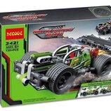 Конструктор Decool 3421 Зеленый гоночный автомобиль. Техник аналог Lego Technic 42072