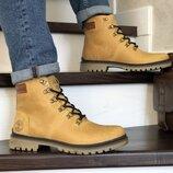 ботинки мужские тимберленд зима кожа