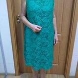 Шикарное Вечернее Платье George Джорж Плотный Гипюр Подкладка Для Пышной Пани