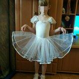 Снежинка юбка новогодняя пышная