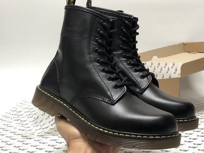 Мужские ботинки Dr.Martens Black. Ботинки Доктор Мартинс. Демисезон.