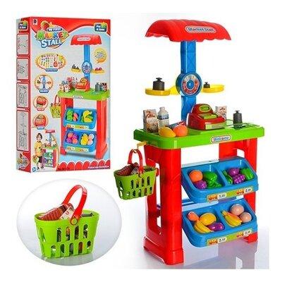 Детский магазин супермаркет с корзиной арт.661-79