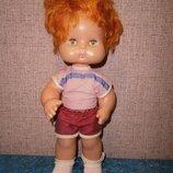 Кукла Аским щекастик рыжая рыжик советская Ссср 35 см