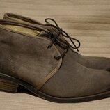 Отличные коричневые кожаные ботинки PLDM by Palladium Франция 41 р.