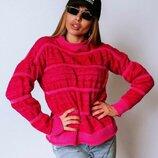 Вязаный свитер Брюле четыре расцветки