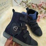 Красивые осенние ботинки для девочки, демисезонные ботинки, ботинки весна осень