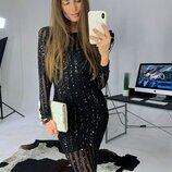 Красивое платье - футляр две расцветки