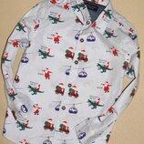 Рубашка 9-12м