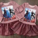 Просто нереально красивое платье с любимыми героями Цена Снижена