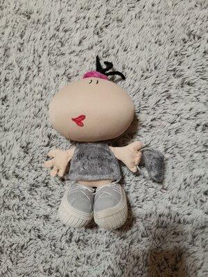 Кукла коллекционная, Bubblegum, RUSS berrie, кукла с сумкой, кукла тканевая