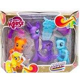 Игровой набор My Happy Horse с фиолетовой пони L-A17-7