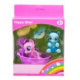 пони ванна Игровой набор My Happy Horse розовая и голубая пони L-A16-6