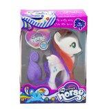 Пони с расчёской My Little Horse белая SM1011A
