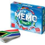Настольная игра Мемо. Флаги / Настільна гра Мемо. Прапори. 7890 Нескучные игры