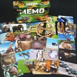 Настольная игра Мемо. Удивительные животные / Настільна гра. Неймовірні тварини 7207 Нескучные игры