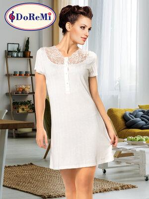Doremi pearl ночная сорочка с коротким рукавом