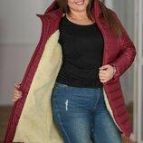Пальто на суровую зиму батал, Размер 48-50,52-54,56-58.