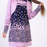 Красивенные костюмы-двойки платье-туника и болеро на рост 134-152см