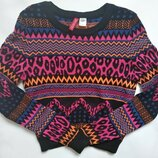Укороченный свитер женский размер XS
