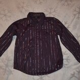 Рубашка George 6-7 лет рост 116-122 Англия