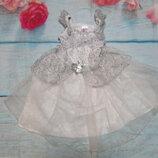 Карнавальное платье снежинка 3-4г
