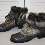 кожаные ботинки Everybody