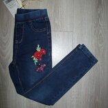 джинсовые джеггинсы Венгрия 6-16 лет не утепленные