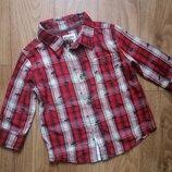 Фланелевая рубашка Hatley на 18-24 мес, 1,5-2 года