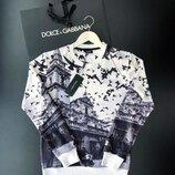 Стильный мужской свитшот Dolce Gabbana S-XL