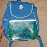 Фирменный школьный рюкзак для мальчика первоклассника, очень удобный, легкий по весу, качественный.
