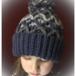 Zara kids шапка с помпоном one size 5-10лет. / 10-18лет. handmade.
