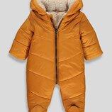 Зимний комбинезон на мальчика 12-18 мес Matalan Англия Размер 80-86 желтый