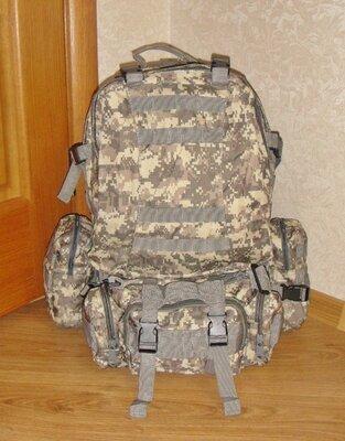 Тактический рюкзак Golan с подсумками 50L. 72 часа. Новый. Куплен в Англии