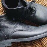 фирменные кожаные ботинки Cat Caterpillar