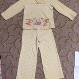 Зимняя пижама 110-166 р. Тёплая
