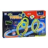 Трек Glow Speed Track 89924 светится 49 деталей машинка
